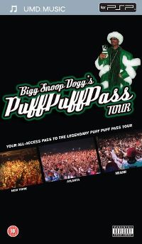 Cover Snoop Dogg - Bigg Snoop Dogg's Puff Puff Pass Tour [DVD]